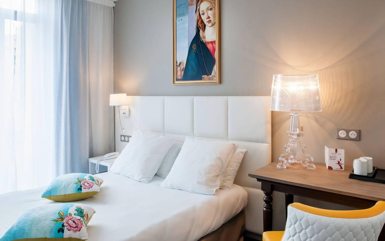 Chambre chic, hôtel 4 étoiles Lourdes, Hôtel Gallia Londres