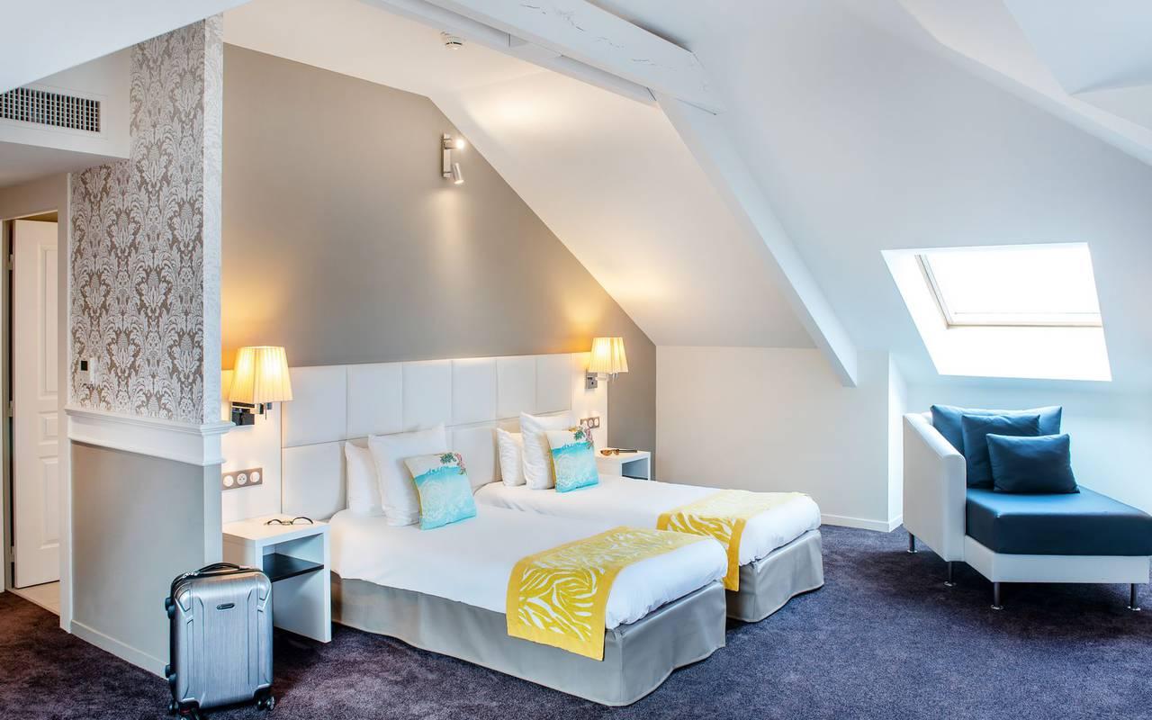 Chambre de charme, hôtel 4 étoiles Lourdes, Hôtel Gallia Londres