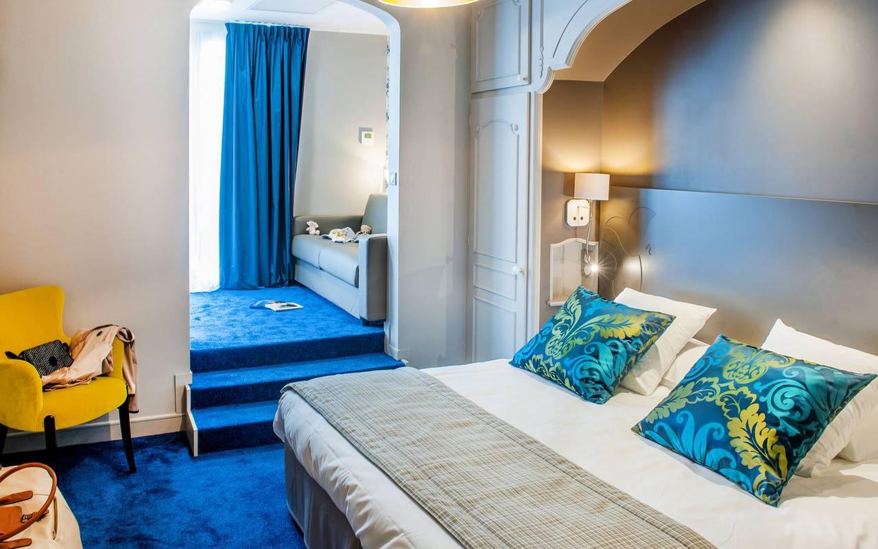 Chambre confortable, hôtel 4 étoiles Lourdes, Hôtel Gallia Londres