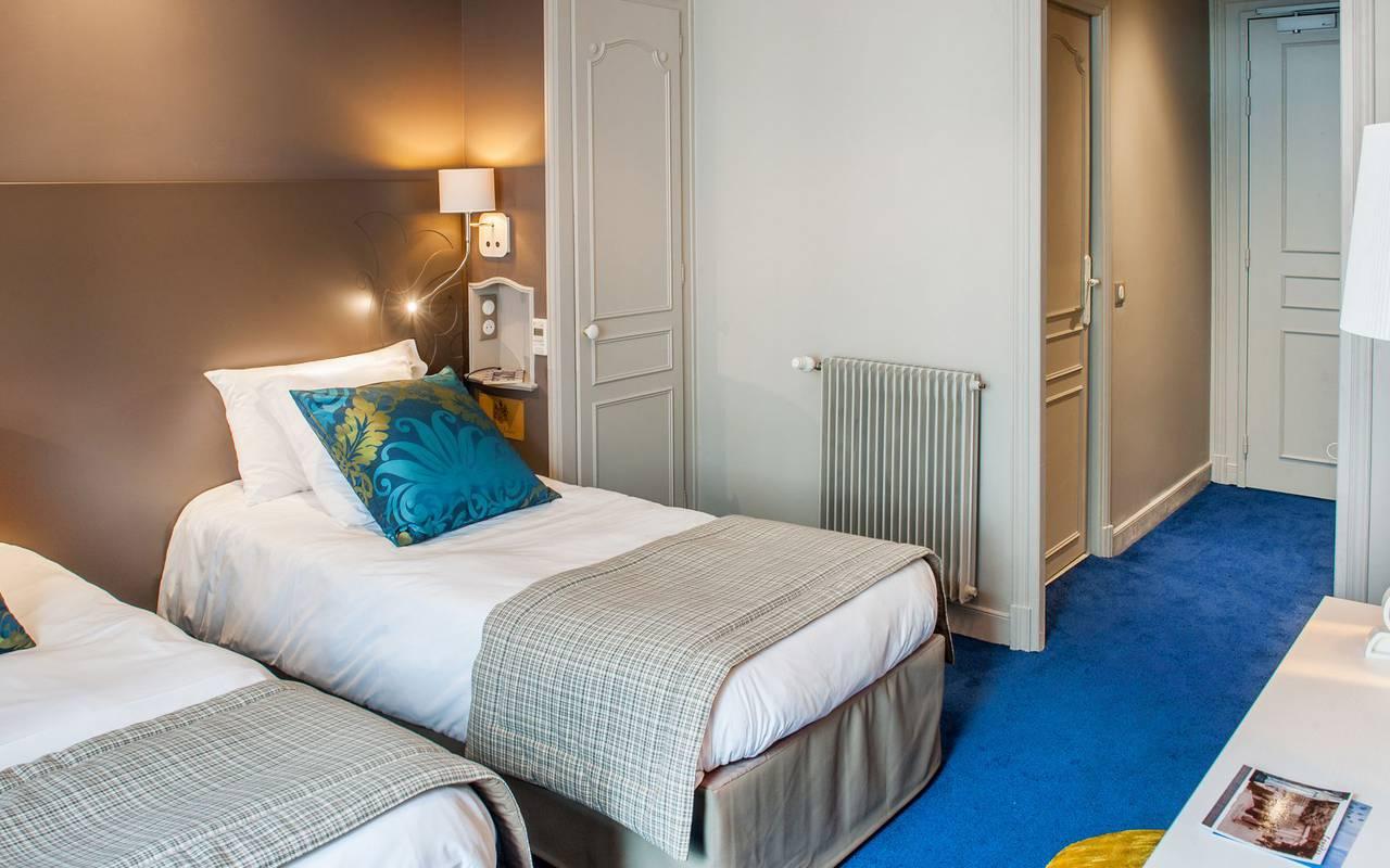 Chambre chaleureuse, hôtel 4 étoiles Lourdes, Hôtel Gallia