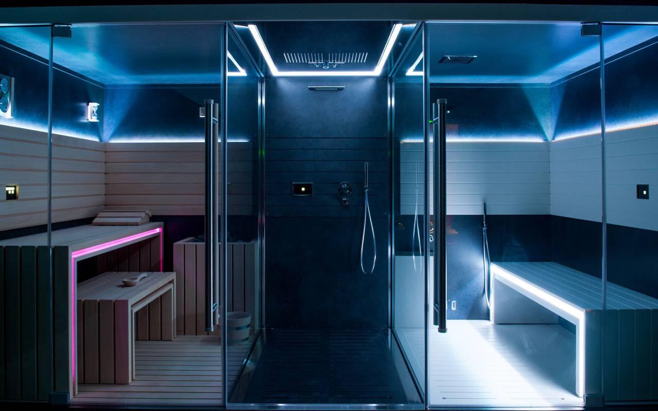 Sauna et hammam, hôtel spa Lourdes, Hôtel Gallia Londres