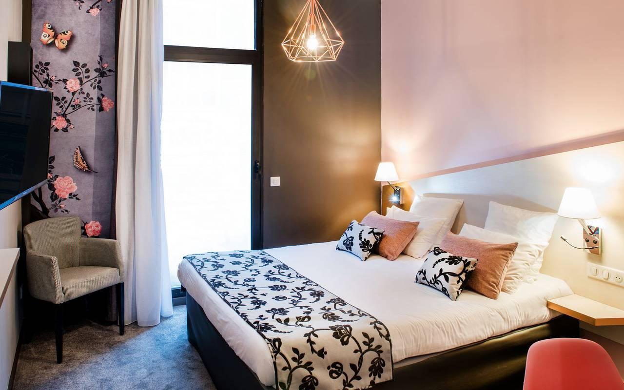 Chambre agréable, hôtel Lourdes, Hôtels Vinuales