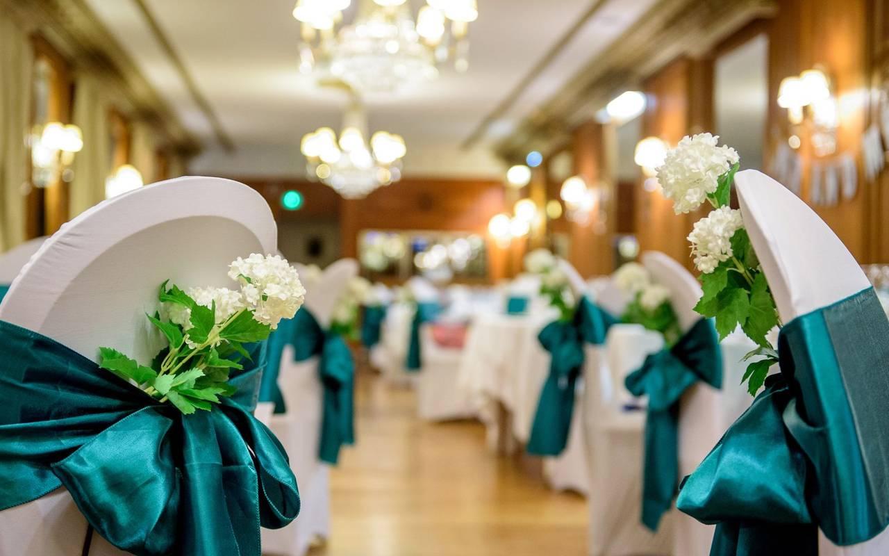 Salle de mariage, séminaire Lourdes, Hôtels Vinuales