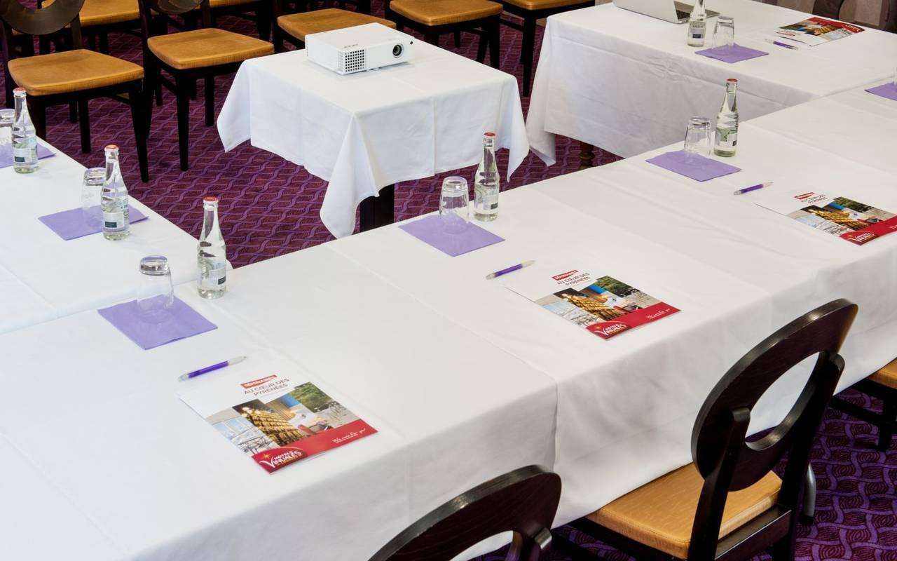 Événements professionnels, séminaire Lourdes, Hôtels Vinuales